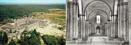 Abbaye De Fontevrault Tour D'Evrault Richard Coeur De Lion Grand Moustier Salle Capitulaire - Lot De 6 CP Non écrites - France