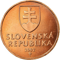 Monnaie, Slovaquie, 50 Halierov, 2002, SPL, Copper Plated Steel, KM:35 - Eslovaquia