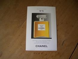 Carte Chanel N°5* - Modernas (desde 1961)