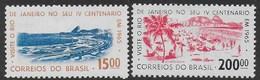 BRASILE - 1965 - 400° RIO DE JANEIRO - NUOVI MNH** (YVERT 758+761 - MICHEL 1060+1063) - Brasile