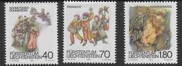 LIECHTENSTEIN - 1983 - CARNEVALE - SERIE CPL. 3 VAL. - NUOVI MNH** (YVERT 759/761 - MICHEL 818/820) - Carnevale