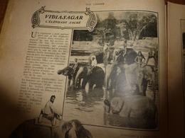 1907 NOS LOISIRS : Vidiasagar,l'Eléphant Sacré; Zein-Nézhâtan, La Belle Mauresque ; Les Serpents Greffés; Etc - Livres, BD, Revues