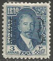 Iraq - 1931 King Faisal I Official 3a Fresh Mint MH *   Sc O30 - Iraq