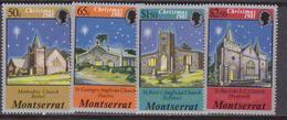Montserrat 1981 - Natale Christmas Navidad Set MNH - Natale