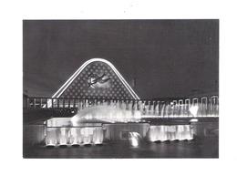 BRUSSEL - EXPO '58 -  VOORGEVEL VAN HET GROOT PALEIS EN FONTEINEN - 'S NACHTS   (2294 A) - Universal Exhibitions