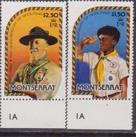 Montserrat 1981 - Scout Set MNH - Nuovi
