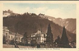 Grand Hotel Bellevue Et Belvedere Glion Sur Montreux - VD Vaud