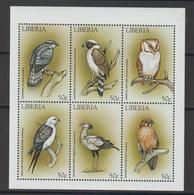 Libéria 1999 Oiseaux Série 1903-08 6 Val ** MNH - Liberia