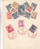 Tchècoslovaquie - Document De 1946 - Oblit Spéciale Rouge Praha - Soldats - Tschechoslowakei/CSSR
