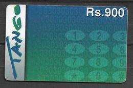 USED PHONECARD PAKISTAN TANGO RS 900 - Pakistan