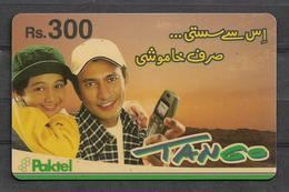 USED PHONECARD PAKISTAN TANGO RS 300 - Pakistan