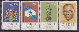 Ciskai 1981 - Indipendance Flag MNH - Francobolli