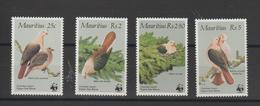 Maurice 1985 Oiseaux Série 631-34 4 Val ** MNH - Mauritius (1968-...)