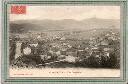 CPA - POUXEUX  (88) - Vue Aérienne Du Bourg En 1907 - Pouxeux Eloyes