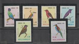 Mozambique 1978 Oiseaux Série 644-49 6 Val ** MNH - Mozambique