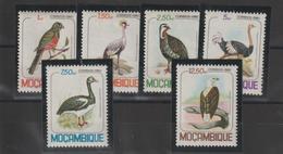 Mozambique 1980 Oiseaux Série 766-71 6 Val ** MNH - Mozambique