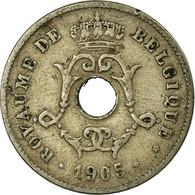 Monnaie, Belgique, 10 Centimes, 1905, TB, Copper-nickel, KM:52 - 1909-1934: Albert I