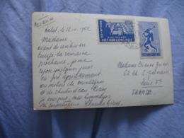 Viet Nam Cong Hoa Buu Chinh Lettre 2 Timbre Pour France 1962 - Vietnam