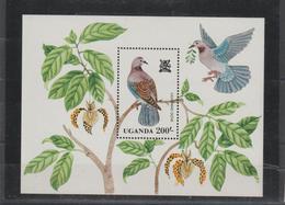 Ouganda 1982 Oiseaux BF 34 ** MNH - Ouganda (1962-...)