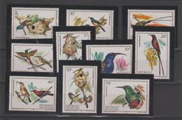 Rwanda 1983 Oiseaux Série 1089-98 10 Val ** MNH - 1980-89: Neufs