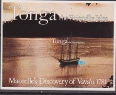 Tonga 1981 - Discovery Ships Navi Set MNH - Trasporti