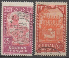 SOUDAN  __N° 67/77  __OBL  VOIR SCAN - Soudan (1894-1902)