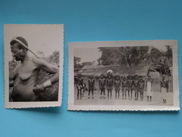 Mission / Missie In CONGO Culture / Cultuur ( 2 Photo : Anno 1950 / 60 ) See / Voir / Zie > Photo ! - Afrique