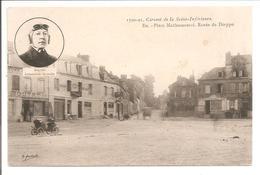 76 EU. Circuit De La Seine Inférieure. Place Mathomesnil. Degrais.Automobile Germain - Eu