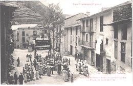 AD ANDORRE - Labouche 1047 - SANT JULIA DE LORIA - La Place Un Jour De Fête - Danse Sardane - Animée - Belle - Andorre