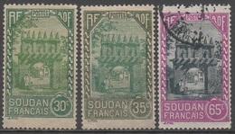 SOUDAN  __N° 67/69/74  __OBL  VOIR SCAN - Soudan (1894-1902)