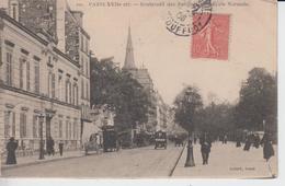 PARIS XVII - 101 - Boulevard Des Batignolles - L'Ecole Normale   ( - Timbre à Datede 1906 ) - Arrondissement: 17