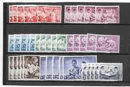 België N° 1139/1146  Meermaals  Xx Postfris Kongo - Belgien
