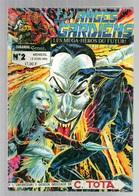 Les Anges Gardiens Les Méga-héros Du Futur N°2 De 1993 Dessins Dédicacé Par Cyrus Tota - Bücher, Zeitschriften, Comics