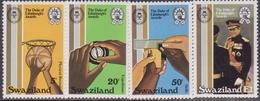 Swaziland 391-394, Mnh. Duca Di Edinburgh's Premi, 25th Anniv. Basket, 1981 - Case Reali