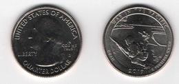 USA  - 1/4 (Quarter) Dollar ( 25 Cents ) 2019-D Monument Of Military Valor UNC Lemberg-Zp - Stati Uniti