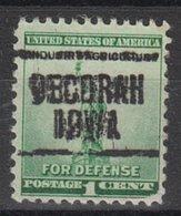 USA Precancel Vorausentwertung Preo, Locals Iowa, Decorah 204 - Vereinigte Staaten