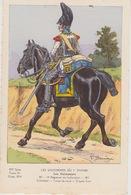 Uniformes Du 1er Empire 14 Eme Régiment 1810 ( Carte Tirée à 400 Ex ) - Uniformen
