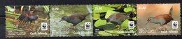 Iles COOK  Timbres Neufs **  De 2014     ( Ref 6404)  Animaux - Oiseaux- WWF - Cookinseln