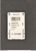 Boarding Card Ferry  Barfleur - Europa