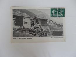 En Montagne Suisse Par Chocolat Klaus. - Suisse