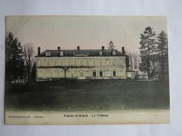 FROHEN-LE-GRAND (80) - Le Château - COLORISEE - Autres Communes