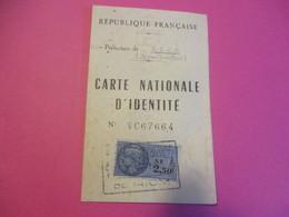 Carte Nationale D'Identité/ Préfecture De RIOM , Puy De Dôme/ POIRIER Gorges/ Nevers-Niévre/1960      AEC163 - Ohne Zuordnung