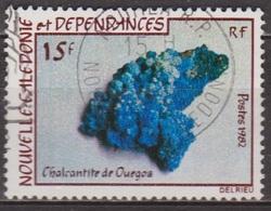Géologie - Roches Et Minerais - NOUVELLE CALEDONIE - Chalcantite De Ouegoa - N° 455 - 1982 - Nueva Caledonia