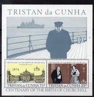 TRISTAN DA CUNHA  Timbres Neufs **  De 1974    ( Ref 6462)  W . Churchill - Tristan Da Cunha