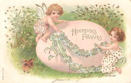 Joyeuses Pâques - Carte Gaufrée - 1903 - Easter