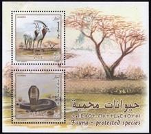 Algeria BLOC Neuf MNH 2019/Espèces Protégées  Un Oryx /un Cobra - Algerien (1962-...)