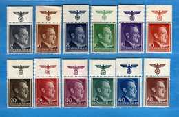 (Mn1) Deutsche Reich General Gouvernement **1941 - ADOLF HITLER. Yvert. 82 à 93. MNH** Vedi Descrizione - Governo Generale