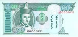 10 Tugrik Mongolei 2002 UNC - Mongolei