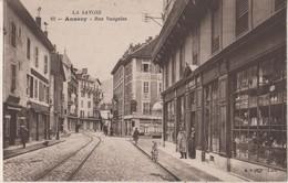 CPA 74. ANNECY. Rue Vaugelas - Annecy