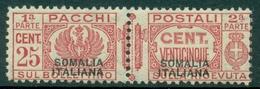 V6332 ITALIA COLONIE SOMALIA 1928 Pacchi Postali MNH**, Ottime Condizioni - Somalia